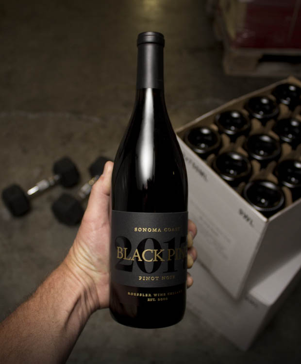 Black Pine Pinot Noir Sonoma Coast 2017  - Last Bottle