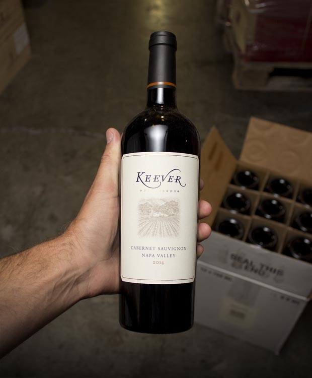 Keever Cabernet Sauvignon Napa Valley 2014  - Last Bottle