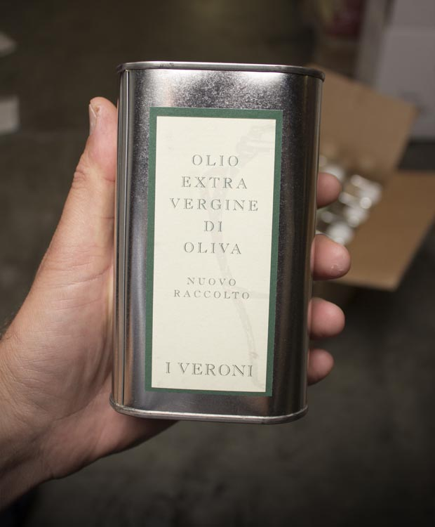 I Veroni Extra Virgin Olive Oil 2017 (500 mL)  - Last Bottle