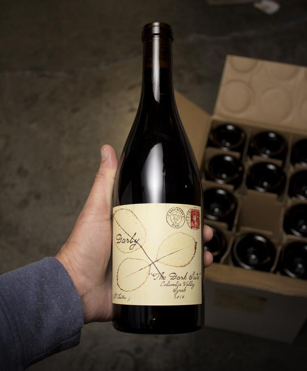 Darby The Dark Side Syrah 2014  - Last Bottle