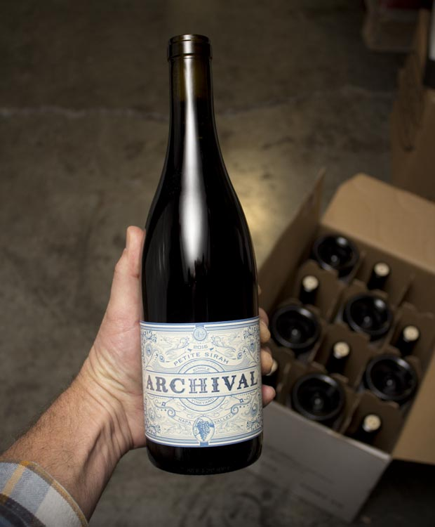 Guthrie Family Archival Petite Sirah 2015  - Last Bottle