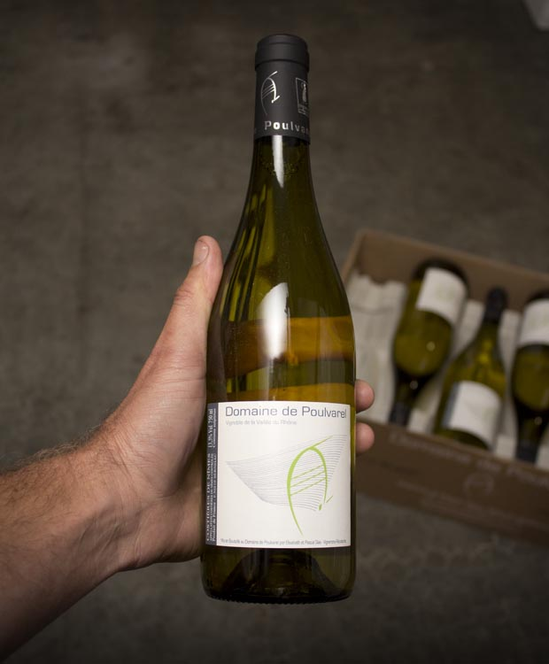 Domaine de Poulvarel Blanc Costieres de Nimes 2017  - Last Bottle