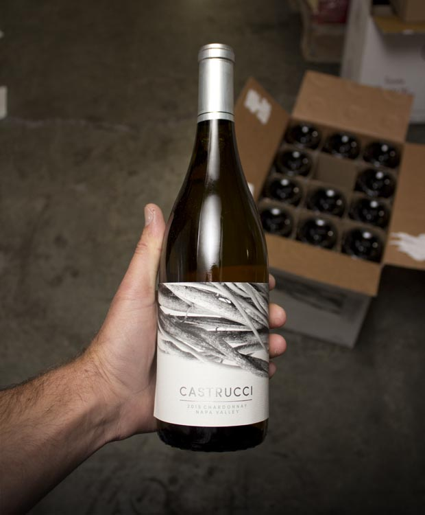 Castrucci Chardonnay Napa Valley 2015  - Last Bottle