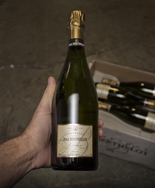 Paul Berthelot Brut Eminence Premier Cru NV  - Last Bottle