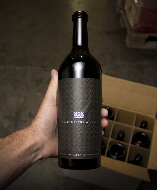 St. Helena Winery Estate Cabernet Sauvignon 2011  - Last Bottle