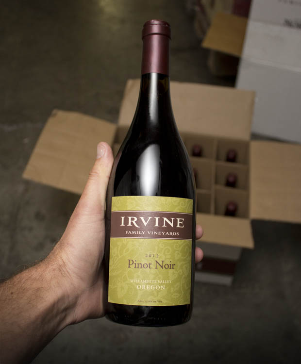 Irvine Family Vineyards Pinot Noir Willamette Valley 2012  - Last Bottle