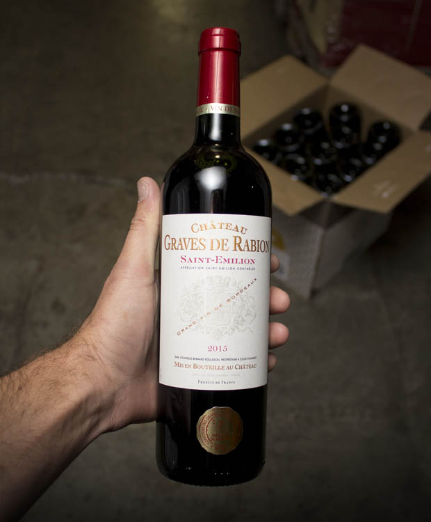 Chateau Graves de Rabion Saint Emilion 2015  - Last Bottle