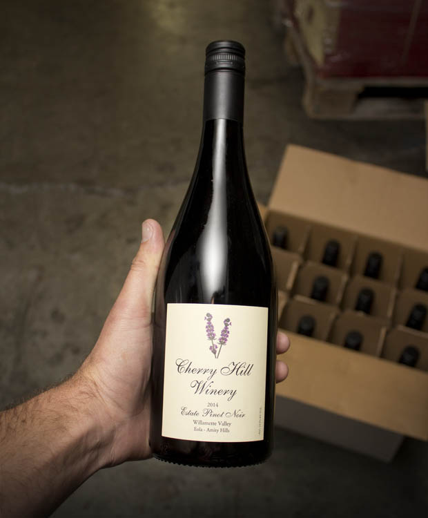 Cherry Hill Winery Pinot Noir Willamette Valley Eola-Amity Hills 2014  - Last Bottle
