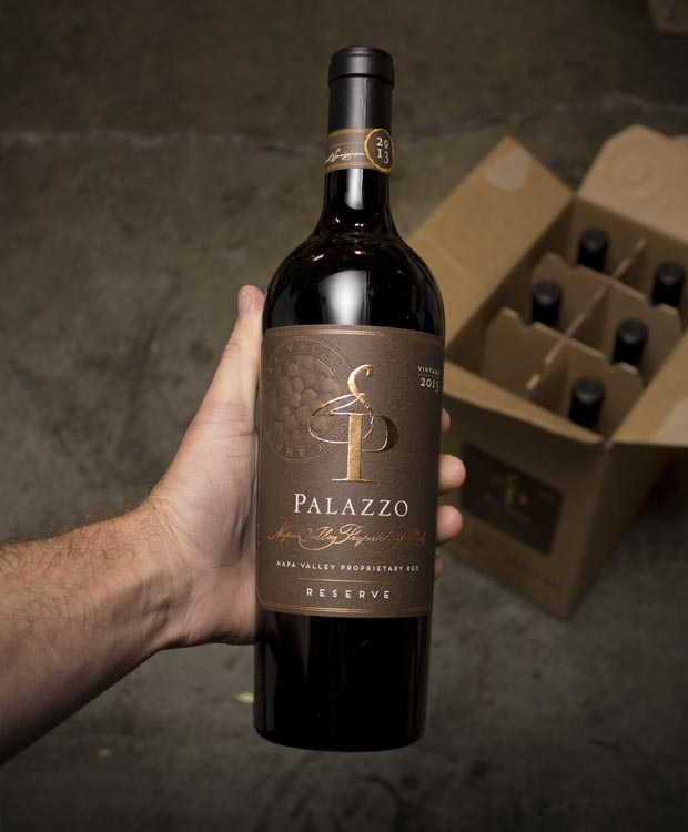 Palazzo Proprietary Red Reserve Right Bank Napa Valley 2013  - Last Bottle