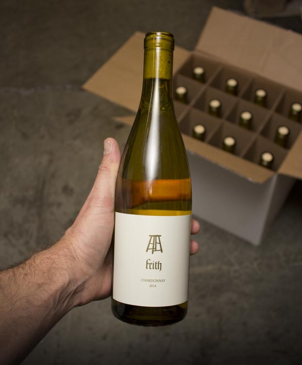 Frith Chardonnay Napa Valley 2014  - Last Bottle
