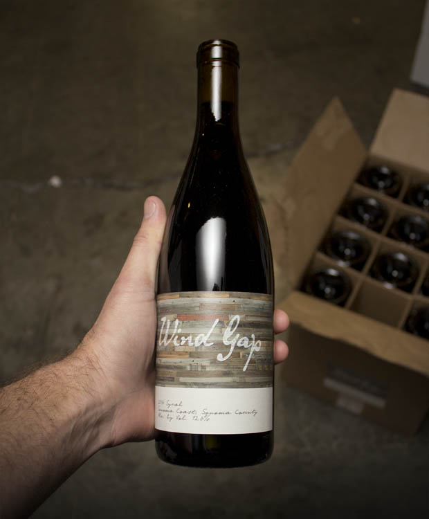 Wind Gap Syrah Sonoma Coast 2014  - Last Bottle