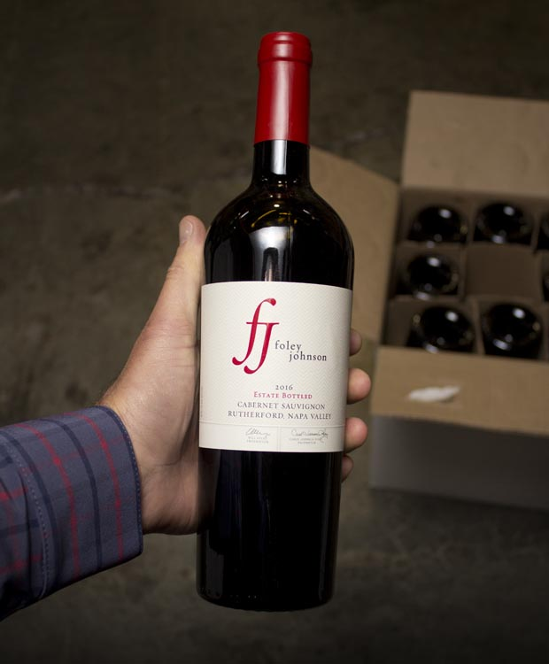 Foley Johnson Cabernet Sauvignon Rutherford Estate 2016  - Last Bottle