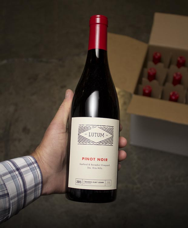 Lutum Pinot Noir Sanford & Benedict Vineyard 2015  - Last Bottle
