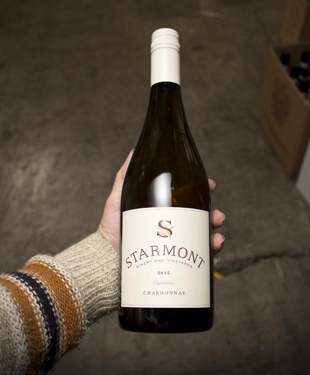 Starmont Winery Chardonnay Carneros 2015  - Last Bottle