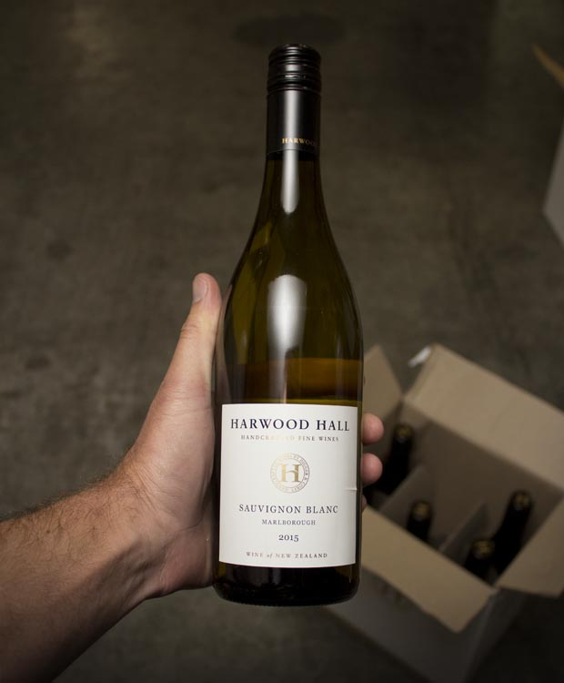 Harwood Hall Sauvignon Blanc Marlborough 2015  - Last Bottle
