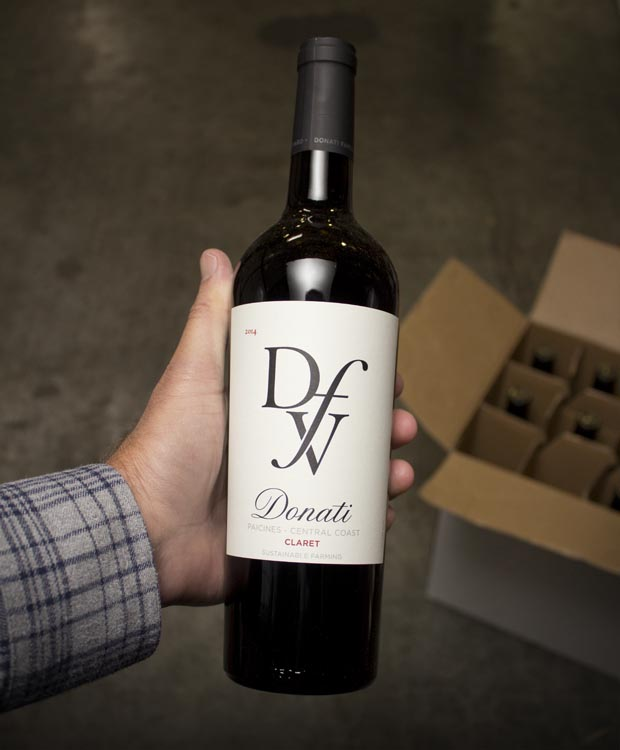 Donati Family Vineyard Claret Paicines 2014  - Last Bottle
