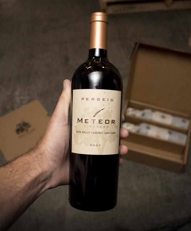 Meteor Cabernet Sauvignon Perseid Napa Valley 2007  - Last Bottle