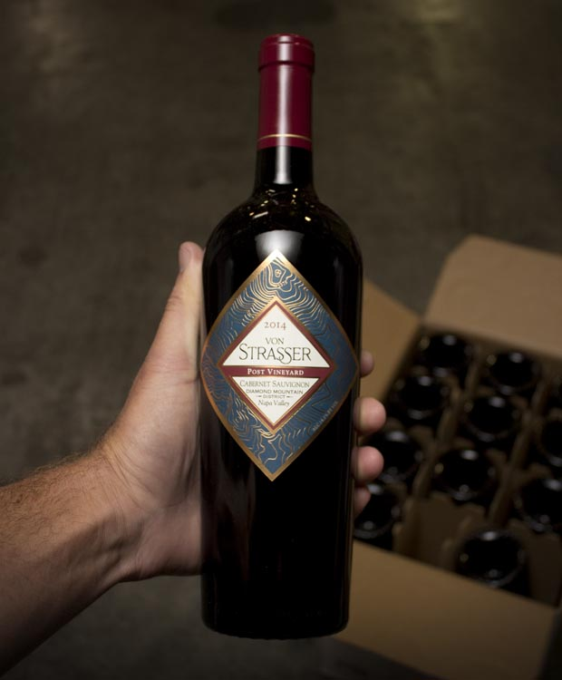 Von Strasser Post Cabernet Sauvignon Diamond Mountain 2014  - Last Bottle