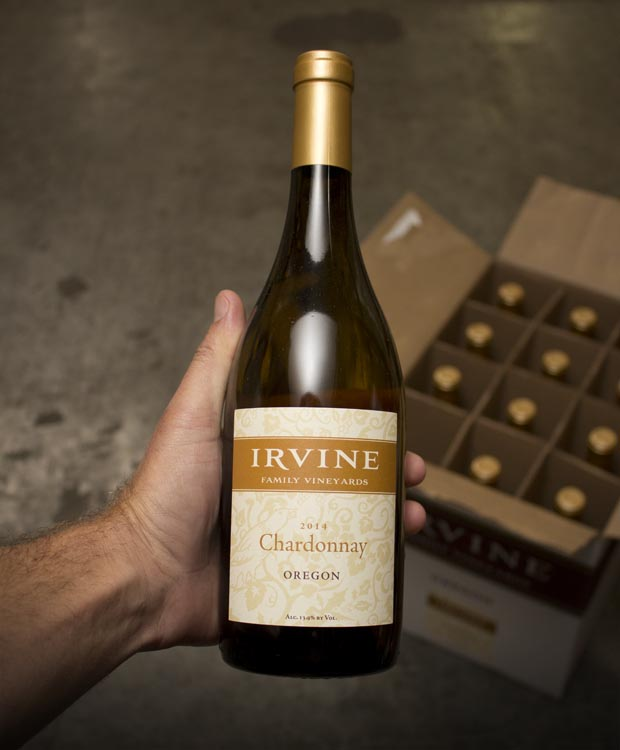 Irvine Family Vineyards Chardonnay Oregon 2014  - Last Bottle