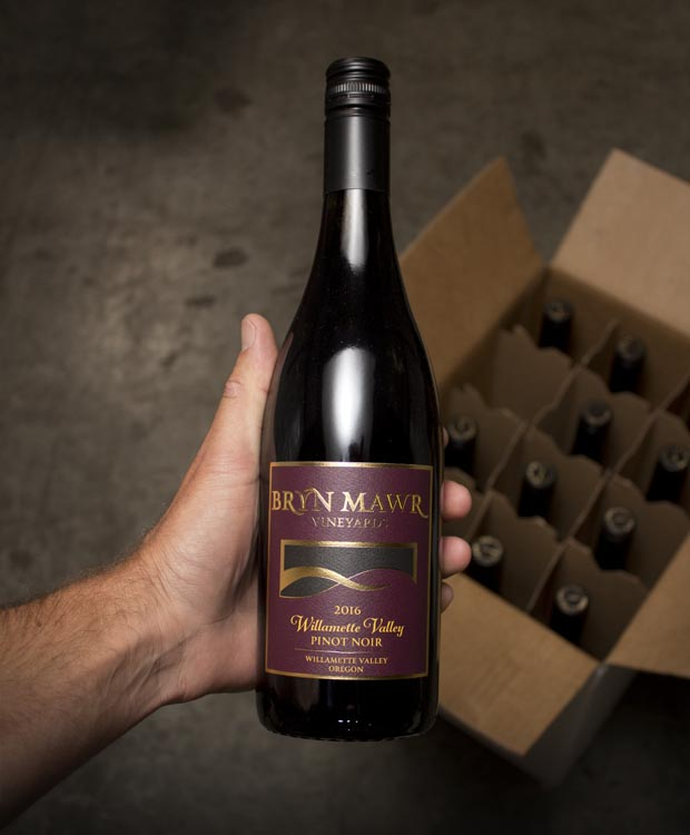 Bryn Mawr Vineyards Pinot Noir Willamette 2016  - Last Bottle