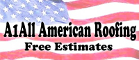 Website for A 1 All American Roofing