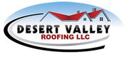 Website for Desert Valley Roofing, LLC