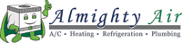 Website for Almighty Air Conditioning and Heating