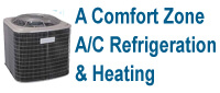 Website for Comfort Zone Air Conditioning, Refrigeration, & Heating, Inc.