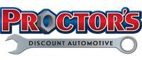 Website for Proctor Discount Automotive Inc.
