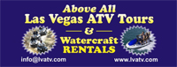 Website for Above All Las Vegas ATV Tours and Watercraft Rentals