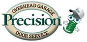 Website for Precision Overhead Door of Las Vegas