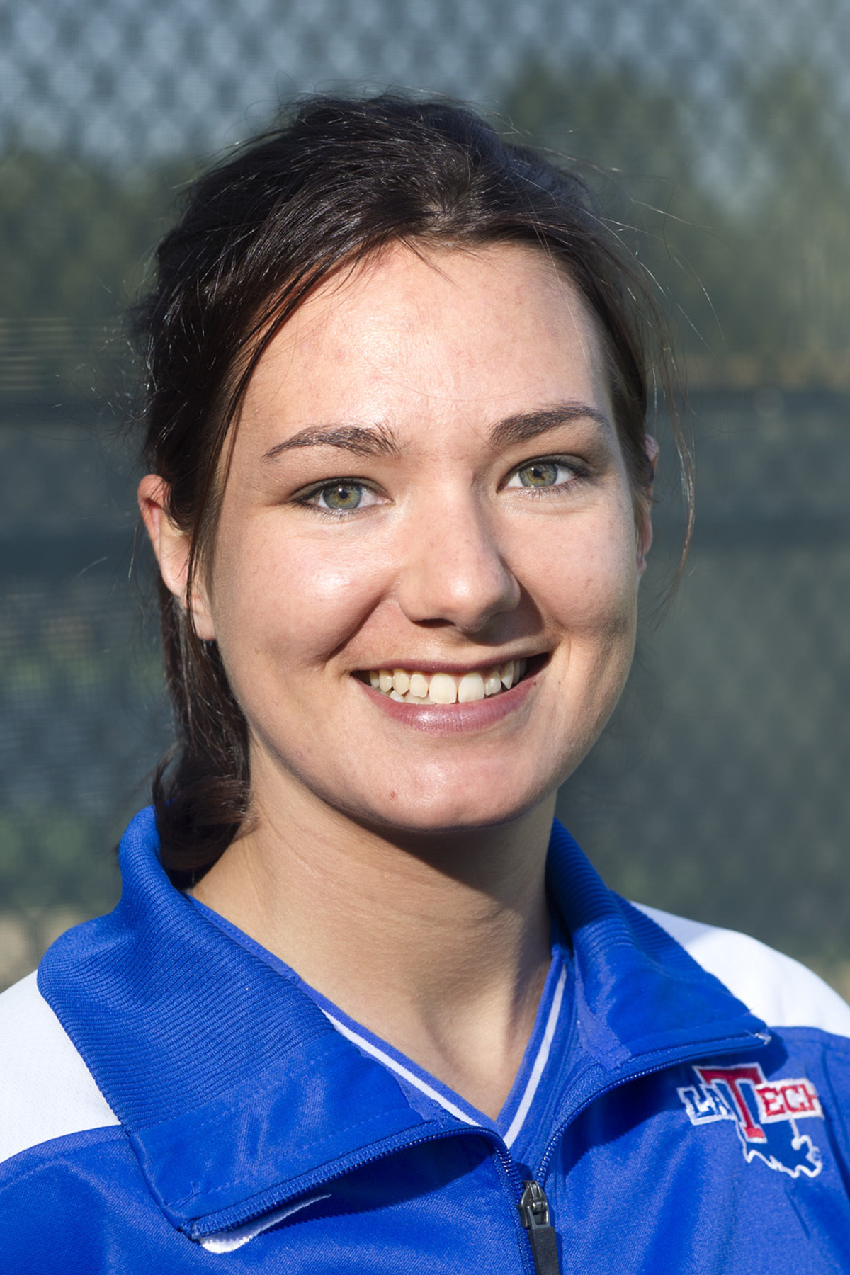 Elne Barnard is one of three Lady Techsters that are 4-0 in singles matches.