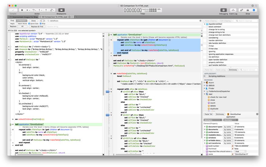 Late Night Software Launches Script Debugger 7 Image