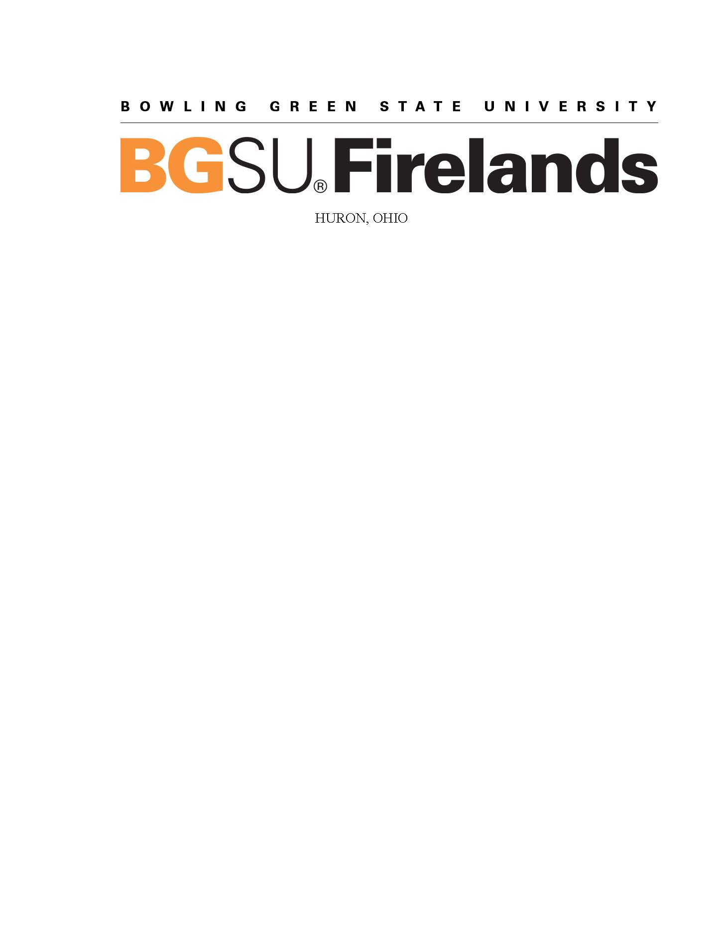 Bowling Green State University - Firelands logo