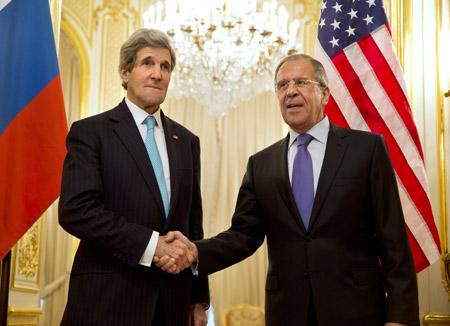 """Washington y Moscú mantienen """"posiciones divergentes"""" sobre la crisis en Ucrania."""