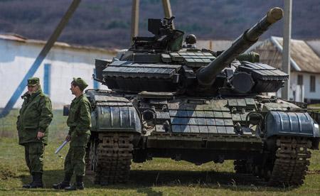 Obama pidió el retiro de las tropas de la frontera ucraniana al presidente ruso Vladimir Putin.