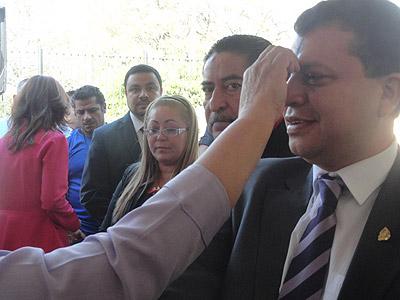 Teodoro Bonilla aseguró que la idea es darle confianza al pueblo hondureño con el personal que impartirá justicia.