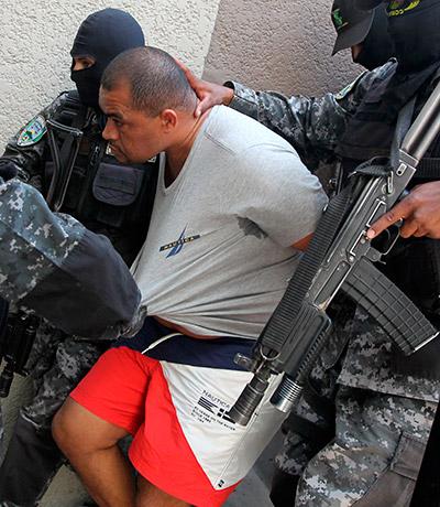 """El hondureño Carlos Arnoldo Lobo, """"El Negro Lobo"""", guarda detención judicial en la Penitenciaría Nacional, mientras se determina si extraditado o no a Estados Unidos."""