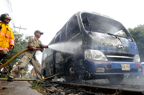 Las autoridades investigan si en el hecho participaron mareros salvadoreños.