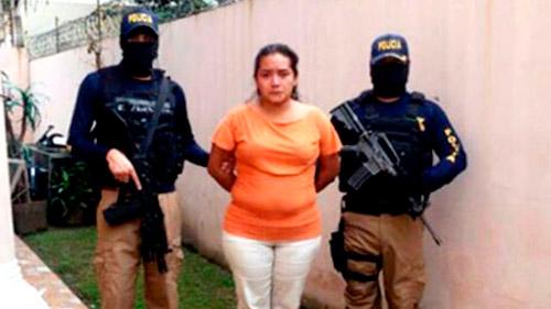 A declararse culpable, Fanny Yamileth Reyes Granados fue condenada a más de 11 años de prisión.