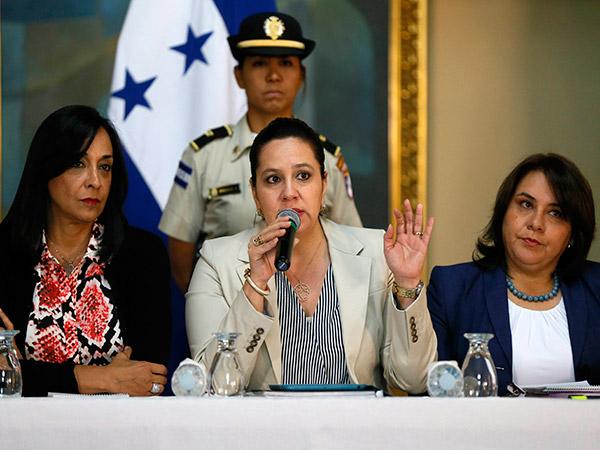 García anunció que la próxima semana llegará a Honduras un grupo de congresistas de Estados Unidos.