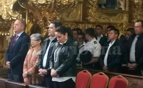 Rodríguez Maradiaga felicitó al mandatario por el logro del presente año lectivo.