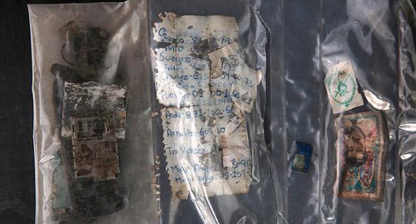 Una lista de teléfonos norteamericanos estaba entre los artículos encontrados en un cuerpo en el desierto de Arizona.