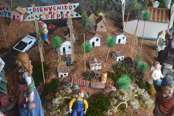Uno de los componentes del nacimiento de la familia Gómez Díaz, es la incorporación de la tragedia de los mineros de El Corpus.