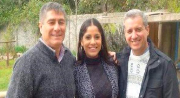 """En la fotografía Luis Ciuffardi, padre de Natalia, quien aseguró ayer que """"ella está muy bien acompañada de su familia y su hijo""""."""