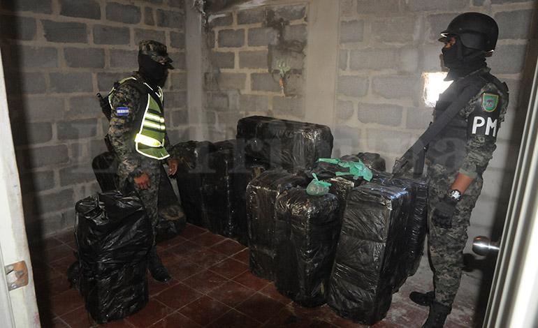 La vivienda había sido alquilada solo para almacenar la droga, mientras era distribuida en la capital y Penitenciaría Nacional.