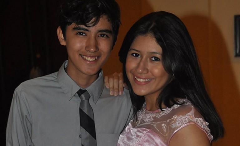 Edgardo Pinto y Laura Rodríguez.