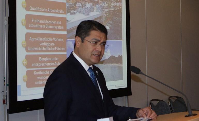 El proyecto Marca País fue destacado por el mandatario hondureño.