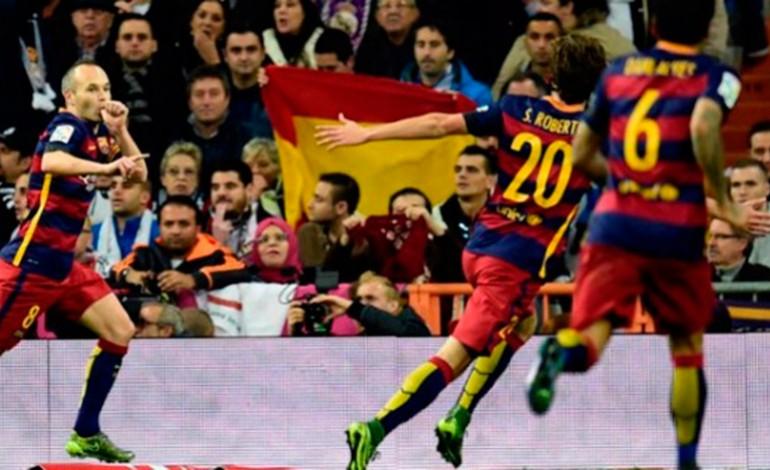 Barcelona humilla al Real Madrid en el Bernabéu