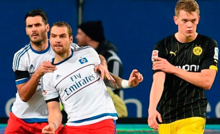 Hamburgo sorprende a Borussia Dortmund